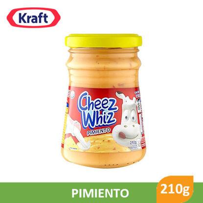 Picture of Kraft Cheez Whiz Pimiento 210g - 1289
