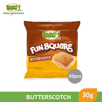 Picture of Lemon Fun Square Butterscotch 30g x 10's - 75489