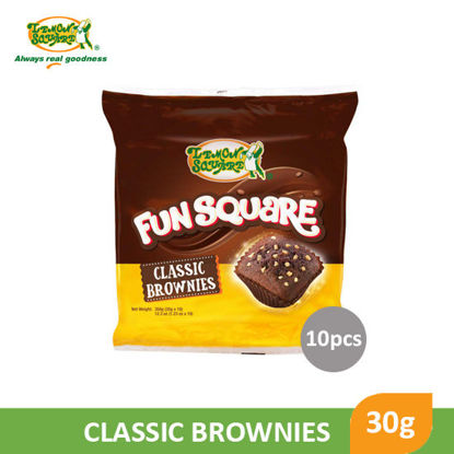 Picture of Lemon Square Fun Square Classic Brownies 30g x 10's - 17905
