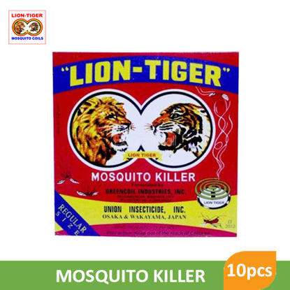 Picture of Lion Tiger Mosquito Killer x 10S - 27197
