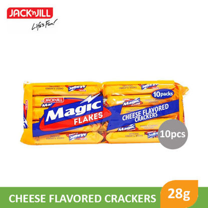 Picture of Jack N Jill Magic Flakes Cracker Cheese 28g x 10S - 10794