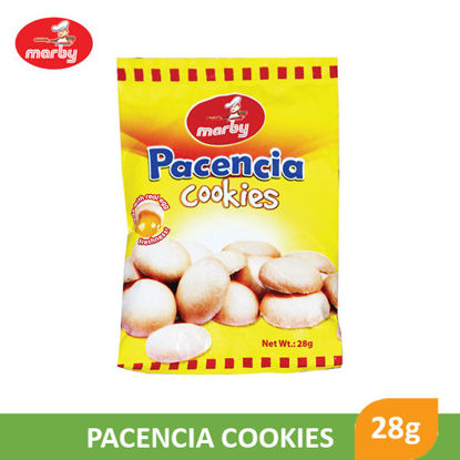 Picture of Marby Food Pacencia Cookies 28g - 12070