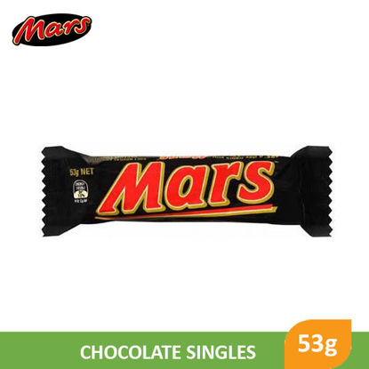 Picture of Mars Chocolate Single 53g - 55247