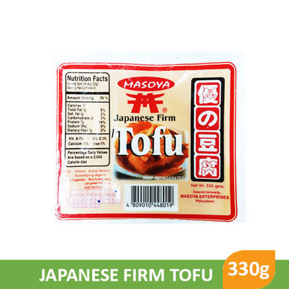 Picture of Masoya Japanese Firm Tofu 330g - 12166
