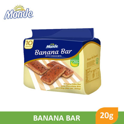 Picture of Monde Banana Bar 20g x 10's - 99251