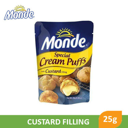 Picture of Monde Special Cream Puffs With Custard Filling 25g - 43183