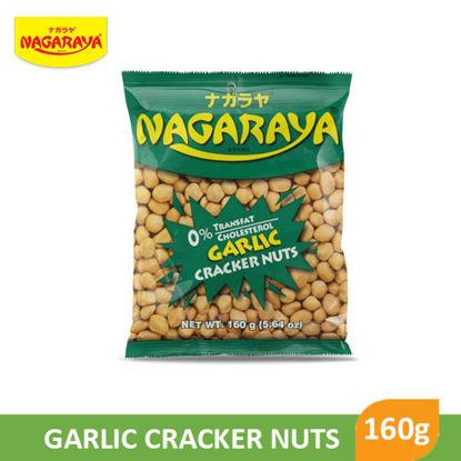 Picture of Nagaraya Cracker Nuts 160G, Garlic - 17945