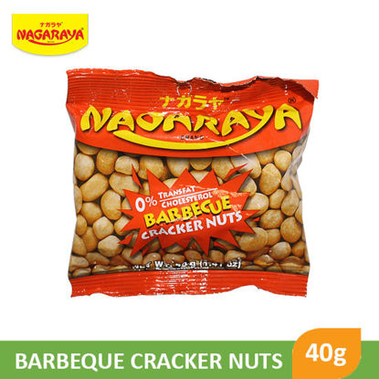 Picture of Nagaraya Cracker Nuts 40G, Bbq - 17934