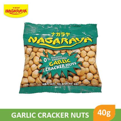 Picture of Nagaraya Cracker Nuts 40G, Garlic - 17935
