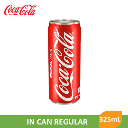 Picture of Coca Cola Coke Regular In Can 325mL - 28193