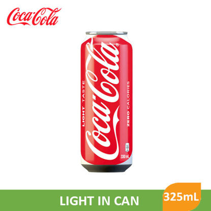 Picture of Coca Cola  Coke Light In Can 325ml - 28200