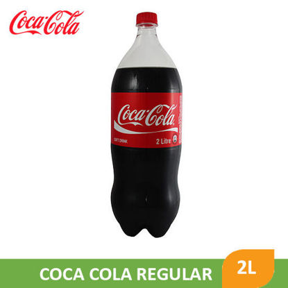 Picture of Coca Cola Coke Regular Pet Bottle 2L - 28208