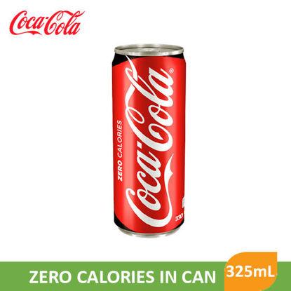 Picture of Coca Cola Coke Zero In Can 325ml - 44581