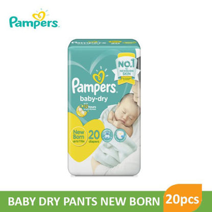 Picture of Pampers Diaper Baby Dry Newborn20S - 079818