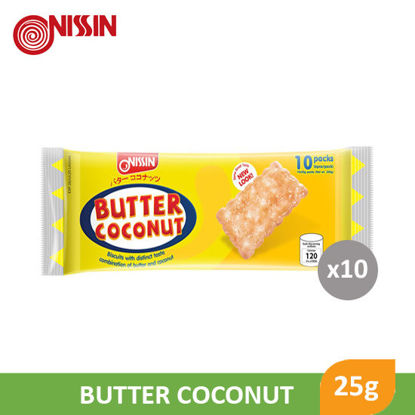 Picture of Nissin Butter Coconut 25G 10S - 99615