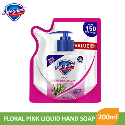 Picture of Safeguard Pink Liquid Hand Soap (200mL) Refill - 097938