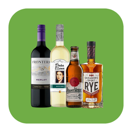 Picture for category Beer, Wine, and Spirits