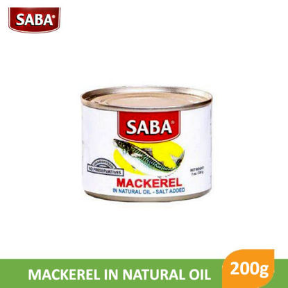 Picture of Saba Mackerel In Natural Oil 200g -  11111