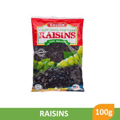 Picture of Sevilla 100% Natural Raisins 100g -  001118