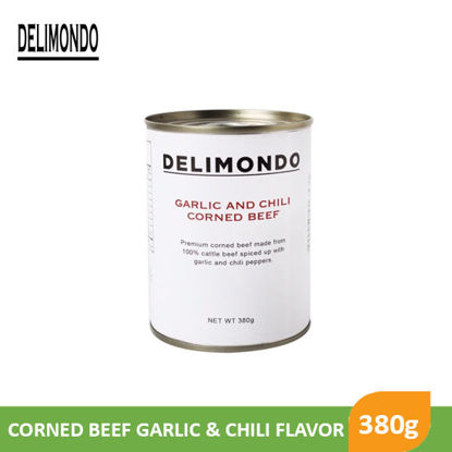 Picture of Delimondo Garlic N Chili Cornedbeef 380g - 80436