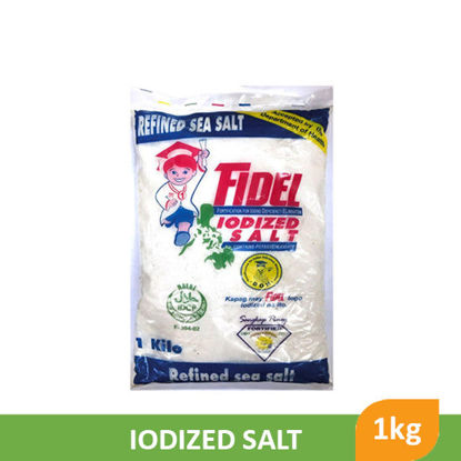 Picture of Fidel Iodized Salt C 1kg - 30382