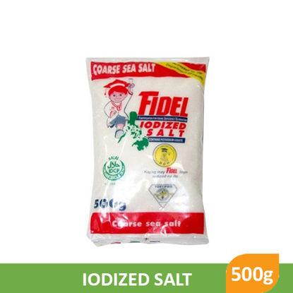 Picture of Fidel Iodized Salt C 500g - 30383