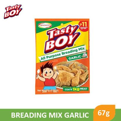 Picture of Tasty Boy Breading Mix Garlic 67g - 085005