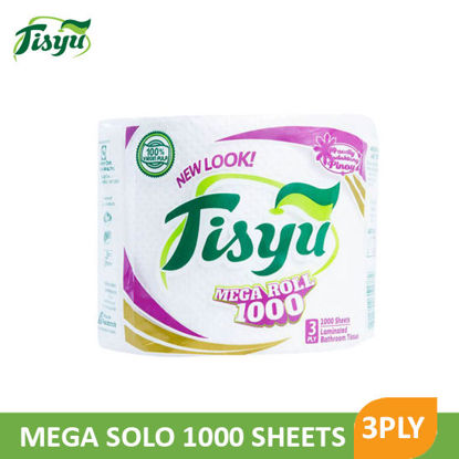Picture of Tisyu Mega Solo 1000Sheets 3Ply - 064238