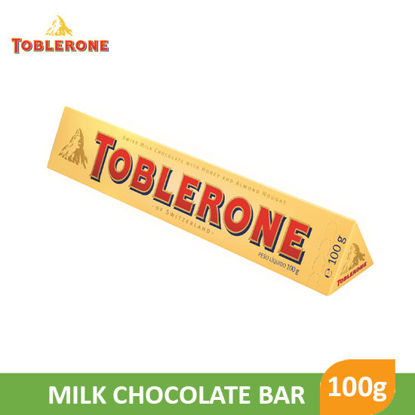Picture of Toblerone Milk Chocolate Bar 100g - 018843