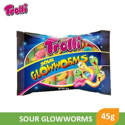Picture of Trolli Gummi Glow Worm 45g - 062827