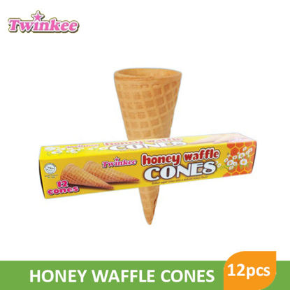 Picture of Twinkee Honey Waffle Cone 12Pcs - 082767