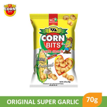 Picture of W.L Food Corn bits Original Super Garlic 70g - 068751