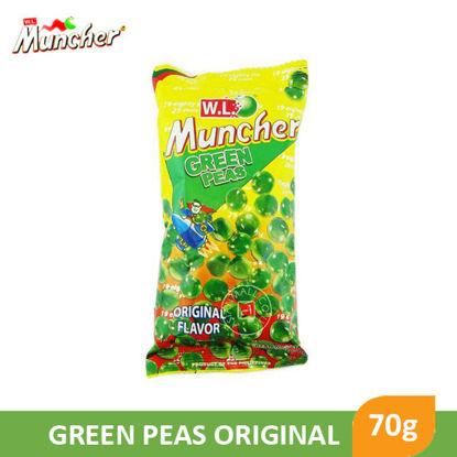 Picture of W.L Food Muncher Green Peas Original 70g - 068790