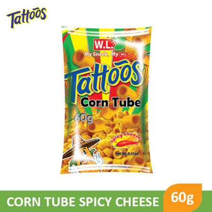 Picture of W.L Food Tattoos Corn Tube 60g - 068717