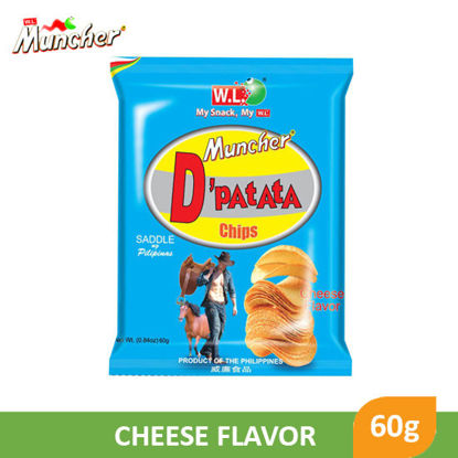 Picture of W.L Foods Muncher D'patata Cheese flavor 60g - 083469