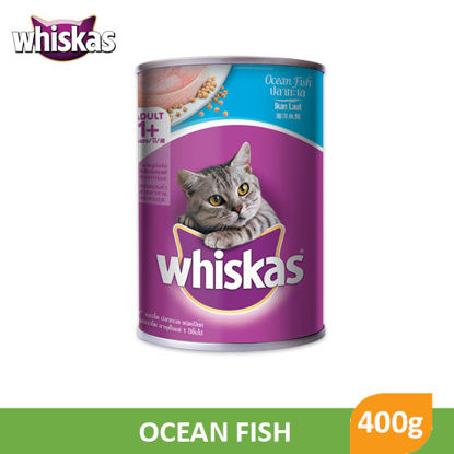 Picture of Whiskas Cans Ocean Fish 400g - 010766