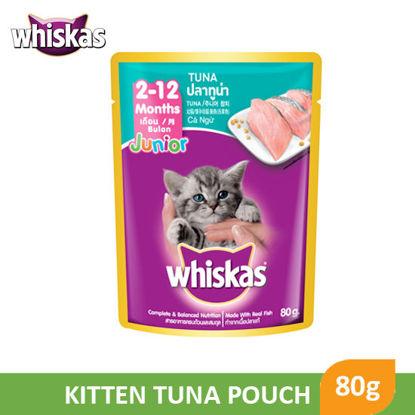 Picture of Whiskas Kitten Tuna Pouch 80g - 030881