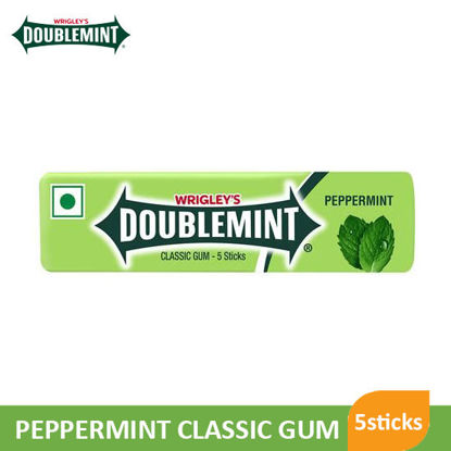 Picture of Wrigleys Doublemint Peppermint 5 Stick - 081118