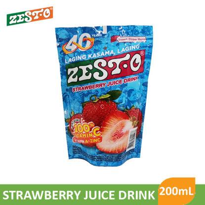 Picture of Zesto Juice Drink Strawberry 200ml - 016954