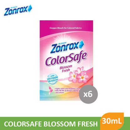 Picture of Zonrox Colorsafe Bleach Blosm Fresh 30mL x 6S - 053035