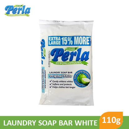 Picture of Perla Laundry Bar White New 110g -  044170