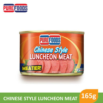 Picture of Purefoods Chinese Style Luncheon Meat 165g -  001033