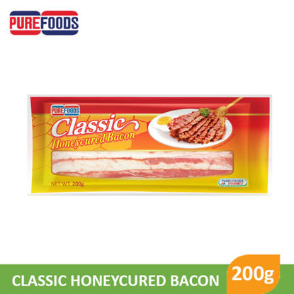 Picture of Purefoods Honeycured Bacon Sliced 200g -   017786