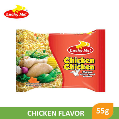 Picture of Lucky Me! Instant Noodle Soup Chicken na Chicken 55g -  014814