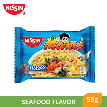 Picture of Nissin Instant Mami Seafood 55g  -  039710