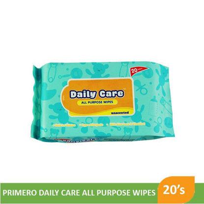 Picture of Primero Daily Care All Purpose Wipes 20S   - 093276