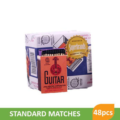 Picture of Guitar Standard Matches 48S Sticks - 21458