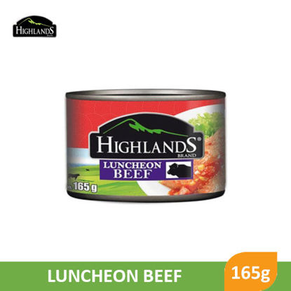 Picture of Highlands Luncheon Beef 165g - 81089
