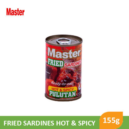 Picture of Master Fried Sardines  Hot & Spicy 155g - 14413