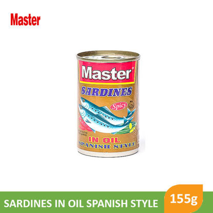 Picture of Master sardines In Oil Spanish style 155g - 10480